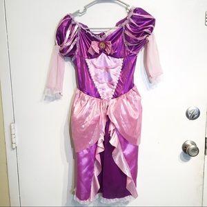 Disney Princess Rapunzel Tangled Costume Dress
